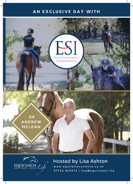 Evidence Based Equitation: In Practice