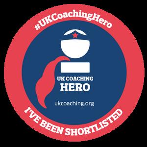 SHORT LISTED for UK Coaching Award