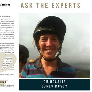 Interview with Dr Rosalie Jones McVey