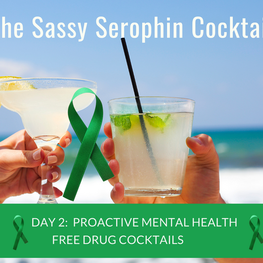 The Sassy Serophin Cocktail