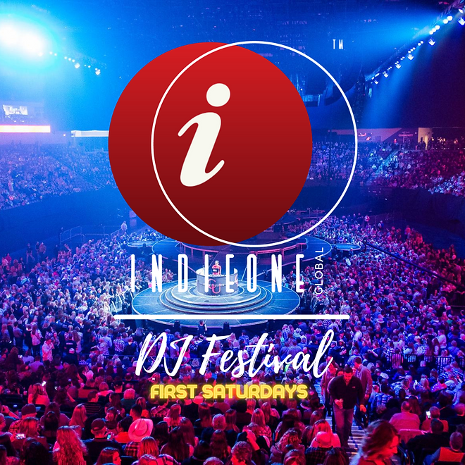 IndieONE Global DJ Festival Stage Graphi