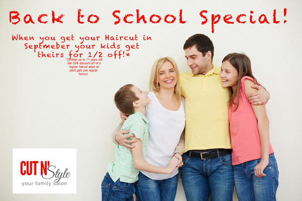 Back to School Specials for Everyone!