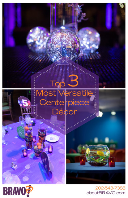 Top 3 Versatile Centerpiece Décor