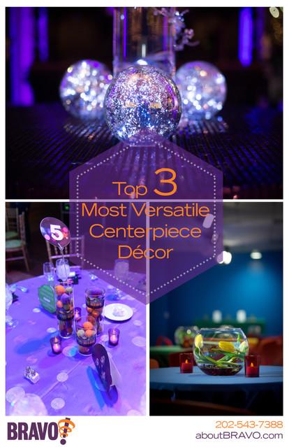 Top 3 Versatile Centerpiece Décor