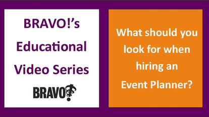 What should you look for when hiring an Event Planner?