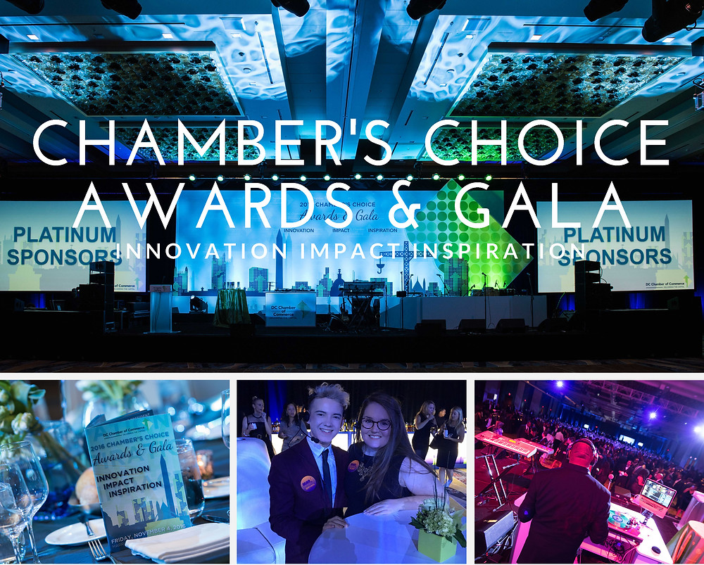 Alex Perry - Chamber's Choice Gala Collage