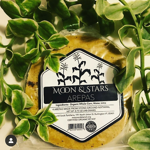 Arepas - Moon & Stars Farm Collab, 4 pack or 20 ct