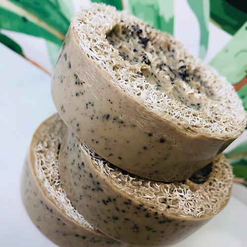 COFFEE Loofah Soap