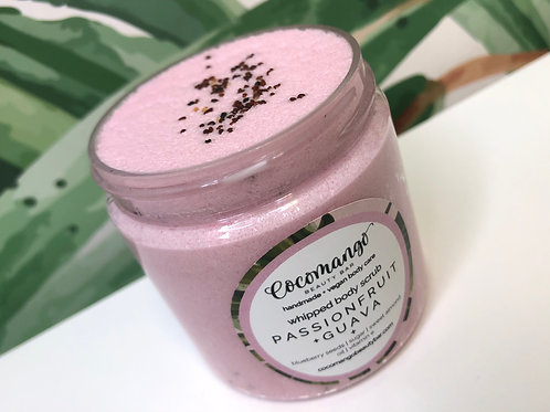 PASSIONFRUIT+GUAVA Whipped Body Scrub with Blueberry Seeds