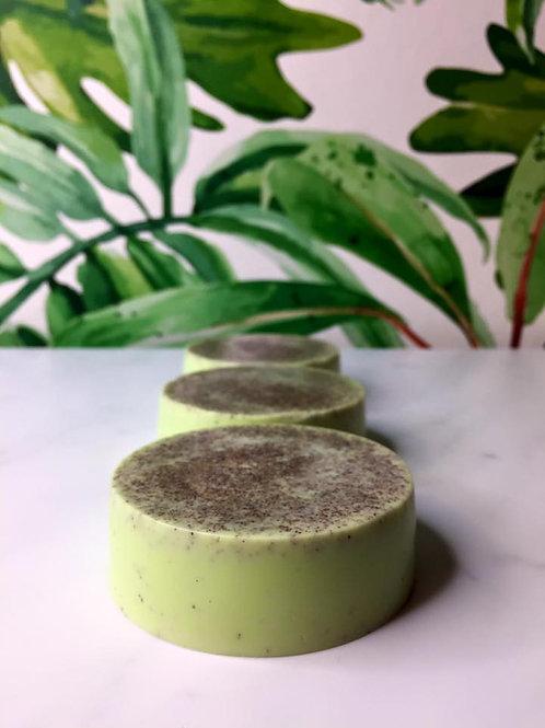 PAPAYA NECTAR Vegan Soap with Ground Apricot Seeds
