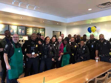 """Coffee with a Cop"" in Atlanta, Georgia"