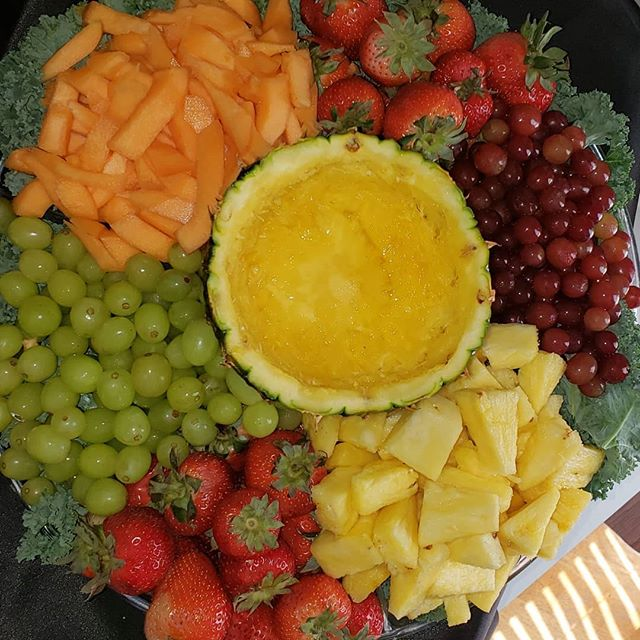 Fruit Or Veggies Tray Platters_$35 Each
