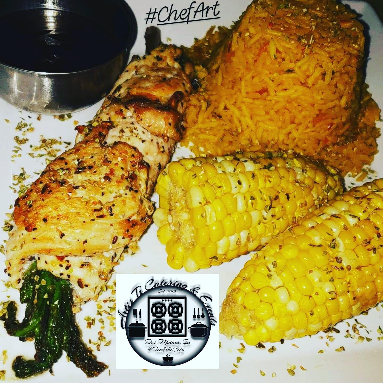 Asiago-Asparagus Chicken Rolls