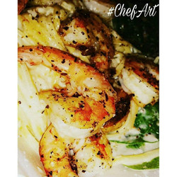 Chicken & Shrimp Alfredo