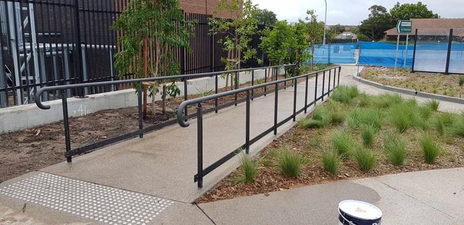 Custom Handrailing - Haberfield Gardens