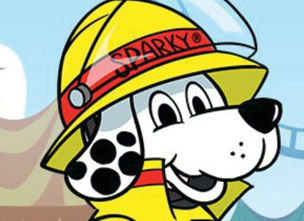 NFPA Sparky the Fire Dog