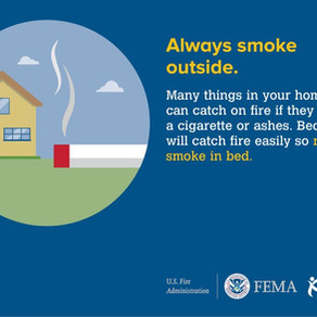 Tuesday's Fire Safety Tip
