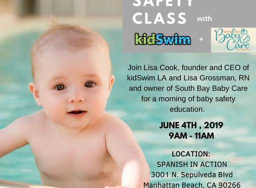 Summer is Coming! Let's Discuss Water Safety.