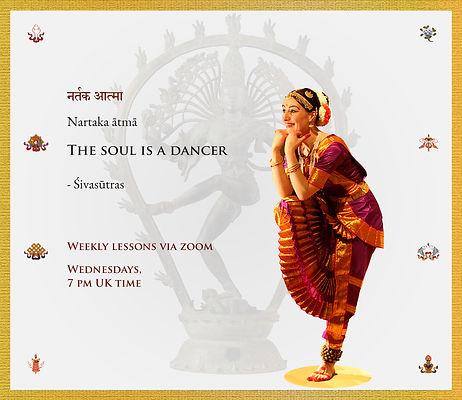 Awareness in movement Bharata Natyam - s