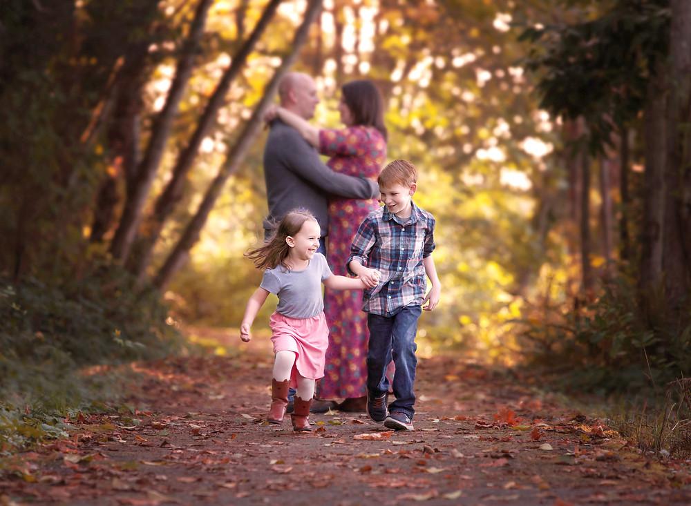 fall, family, portraits