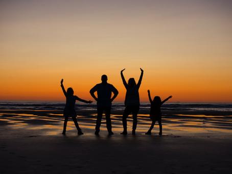 Beautiful Oregon Coast Sunset {Cannon Beach, OR}