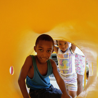 Playing in a Tunnel