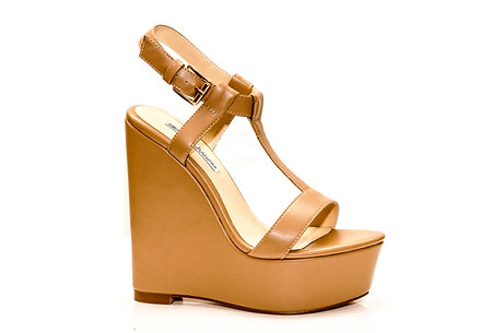 Jeannie strappy wedge