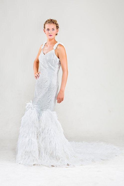 Gatsby couture gown
