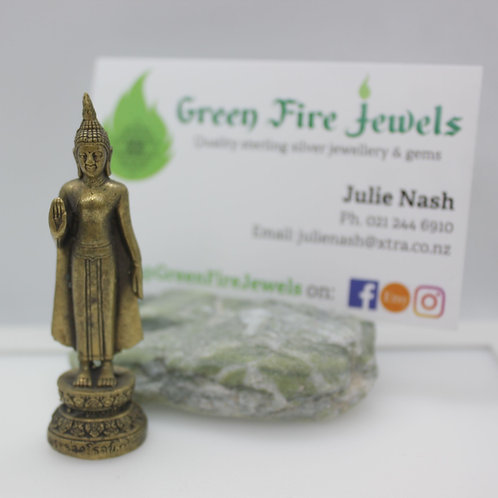 Brass Standing Buddha
