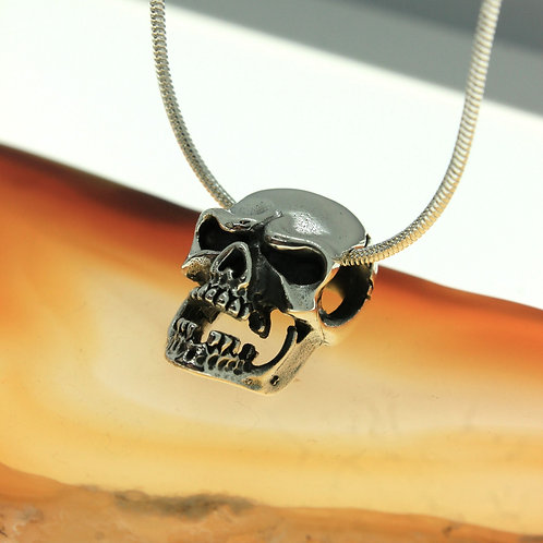 Skull - 925 Sterling Silver Pendant