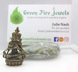 Brass Buddhist Figurine
