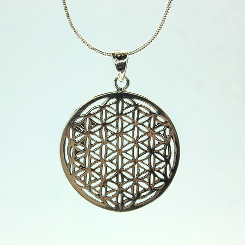 Flower of Life - 925 Sterling Silver Pendant