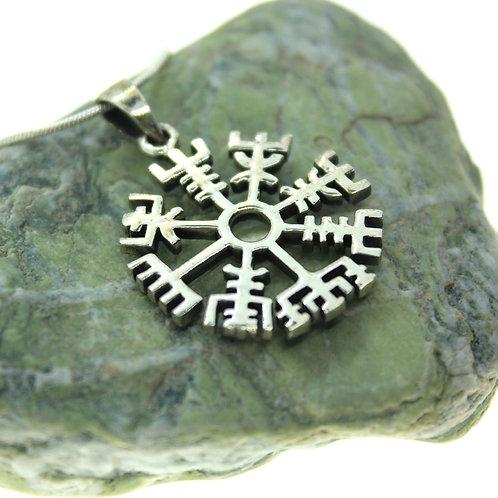 Vegvisir - 925 Sterling Silver Pendant