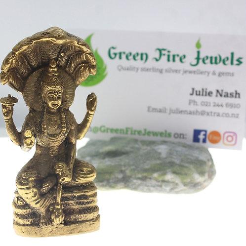 Brass Vishnu Figurine