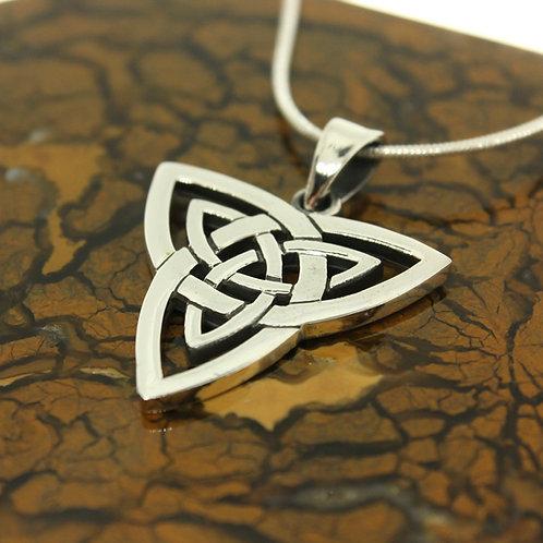Celtic Triquetra - 925 Sterling Silver Pendant