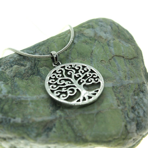 Tree of Life - 925 Sterling Silver Pendant