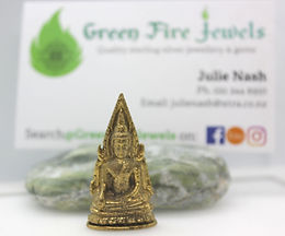 Brass Buddha Figurine