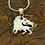 Thumbnail: Ethiopian Lion - 925 Sterling Silver Pendant