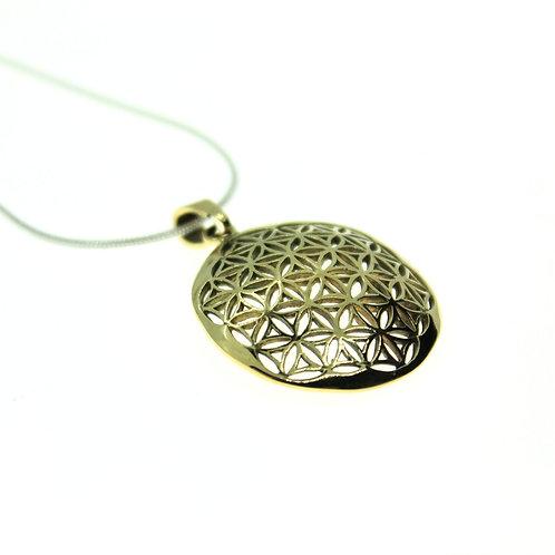 Flower of Life - Bronze Pendant