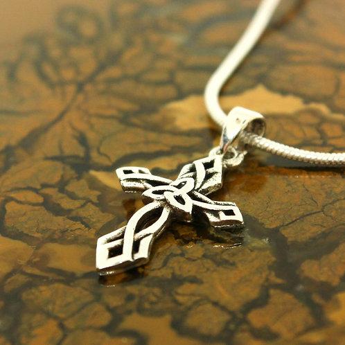 Celtic Cross - 925 Sterling Silver Pendant