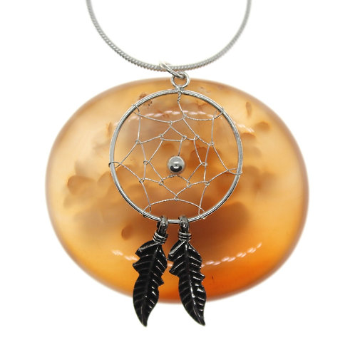 Dreamcatcher - 925 Sterling Silver Pendant
