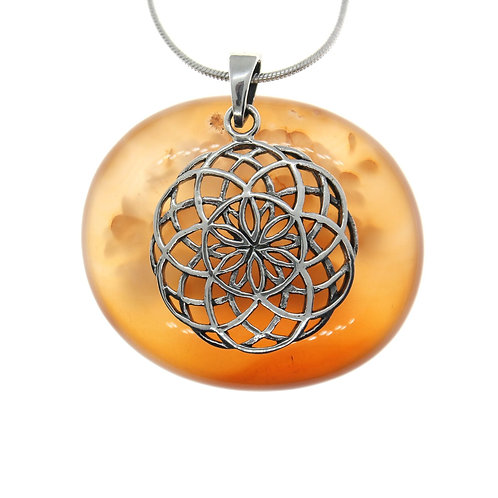 Seed of Life (large) - 925 Sterling Silver Pendant