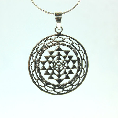 Sri Yatra - 925 Sterling Silver Pendant