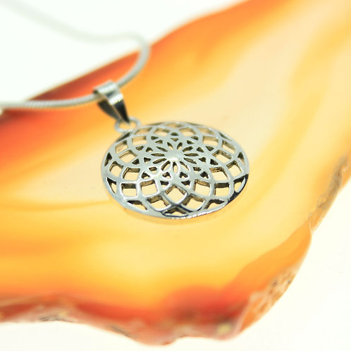 Seed of Life (small) - 925 Sterling Silver Pendant
