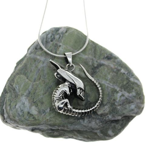 Alien - 925 Sterling Silver Pendant
