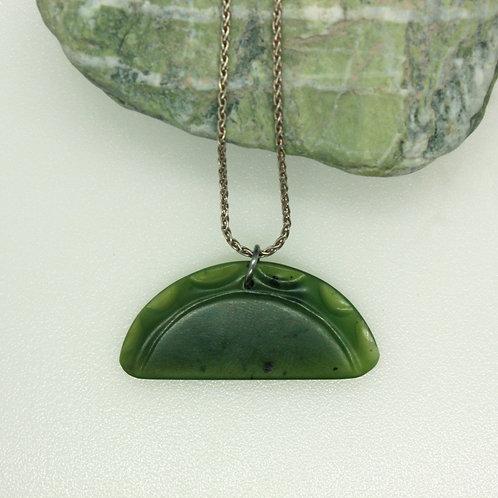 Jade Sunset Pendant