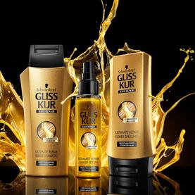 GLISS / Schwarzkopf / package - still