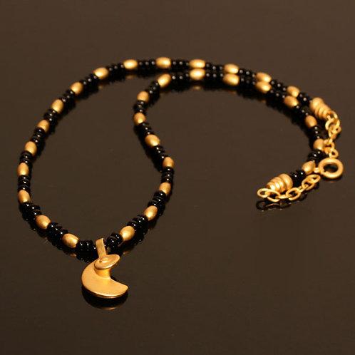 Halskette CL1716+DJ1728 mit Onyx