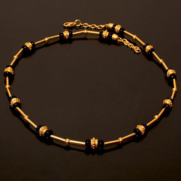 Halskette CL1815 mit Onyx