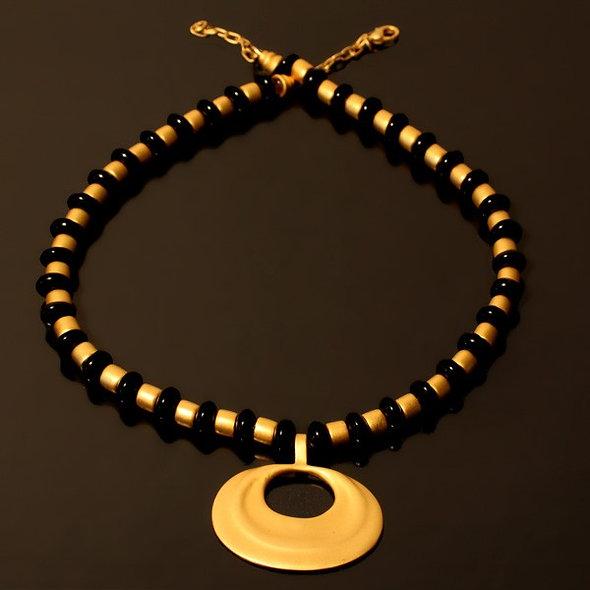 Halskette CL1827+DJ1042 mit Onyx